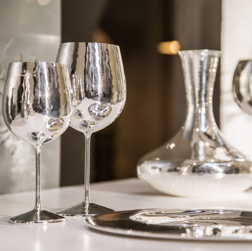 Glasses and decanters