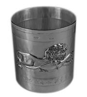 Bicchiere zodiaco leone
