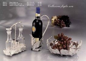 Oliera, portabottiglia e cestino foglie uva