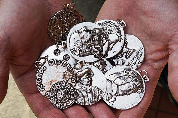 medaglie del Brandi - Dante